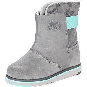 Sorel Rylee Laarzen Kinderen grijs/turquoise